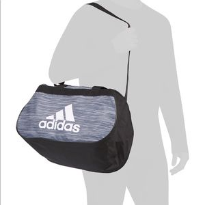 adidas Bags - New Adidas Diablo Small Duffel Basketball Gym Bag 7f8dd332c0e05